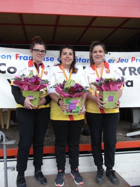 Championnat triplette féminin