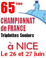 Nice: France triplette