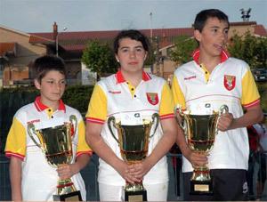France Triple jeune à Beaucaire, les résultats!
