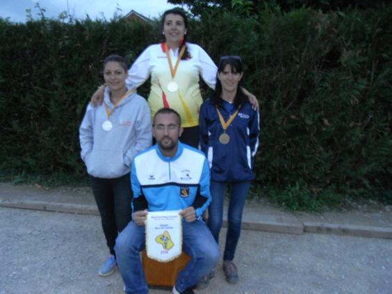 Championnat tête à tête féminin et doublette masculin