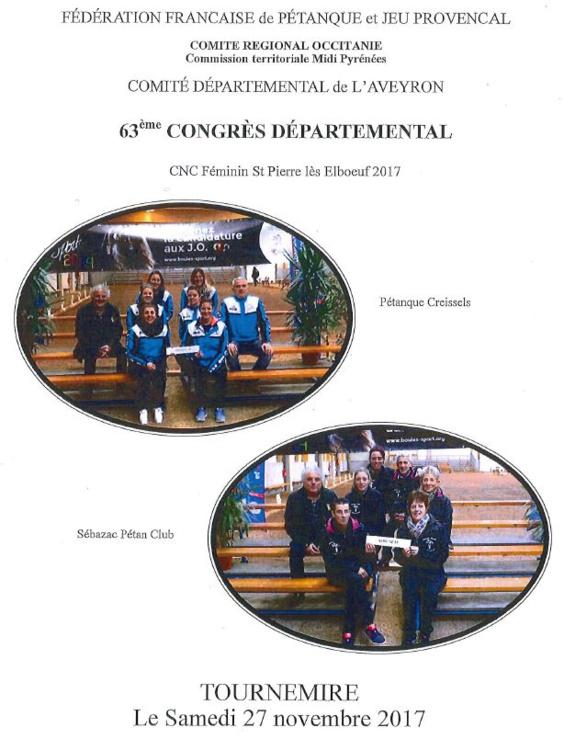 Compte rendu congrès 2017