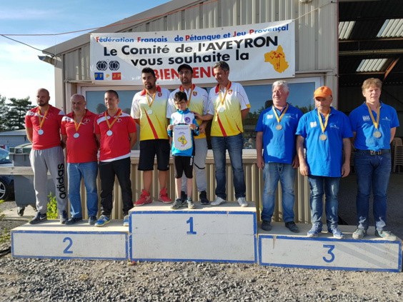 Podium Séniors