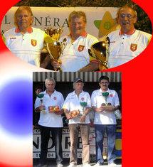 Championnat de France triplettes vétérans 2010
