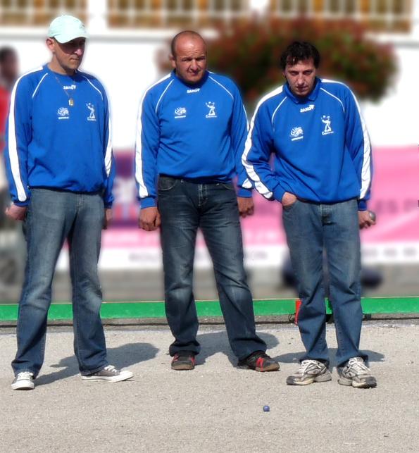 Laurent PETIT, Olivier ALET et Thierry FERES réalisent le doublé au régional de Drulhe!