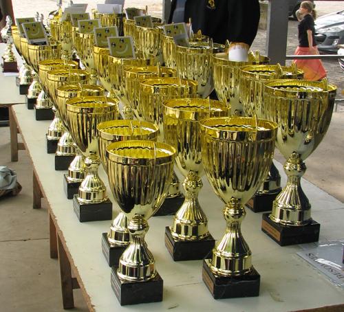 Les trophées à distribuer