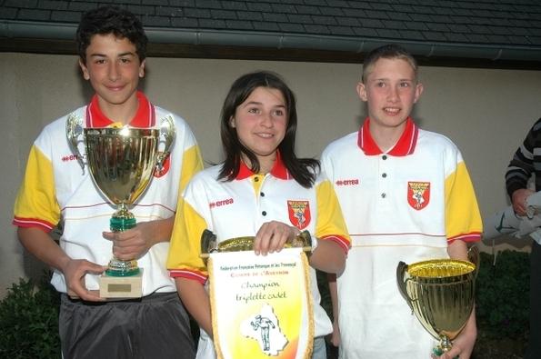 Finale Championnat d'Aveyron Triplette