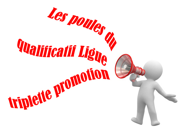 Qualificatif Ligue Triplette promotion (les résultats)