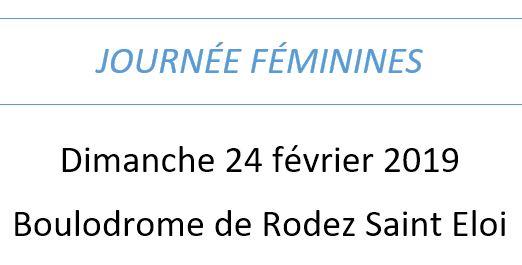 Journée des féminines
