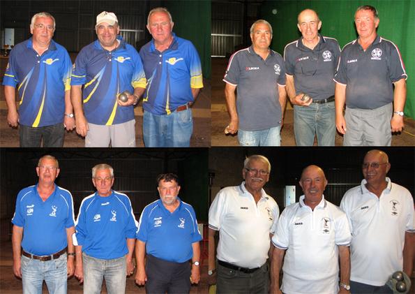 Les 4 équipes qualifiées pour la Ligue Midi-Pyrénées