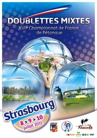France Doublette mixte 2011