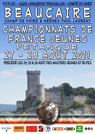 Championnat de France jeunes 2011, les résultats