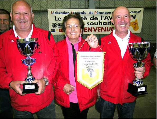 XIIme Coupe de l'Aveyron Doublette vétéran