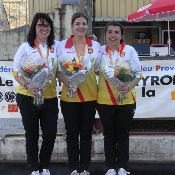 Championnat triplette 2019