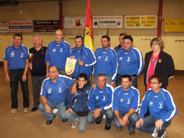 JP Capdenacoise, champion division I