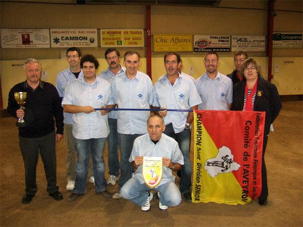 Agnac PC, champion division II