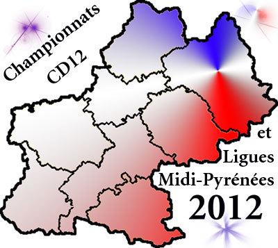 Championnats départementaux et Ligues 2012 (maj 02/03)
