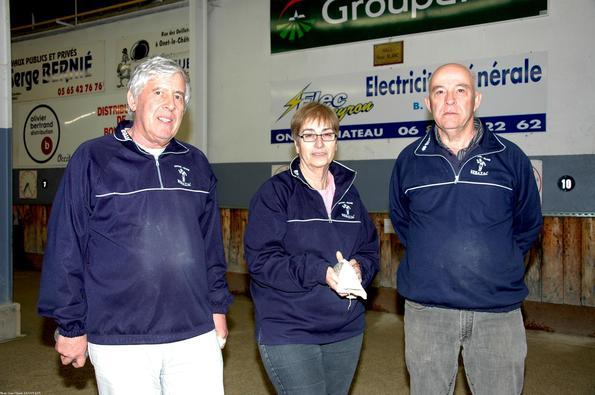 Demi-finaliste: Claude, Paulette DELTORT et  Francis VIARGUES  (Sébazac PC)