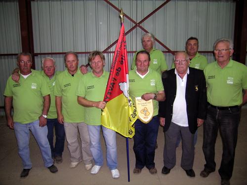 Pétanque de Creissels champion de l' Aveyron CDC Vétéran