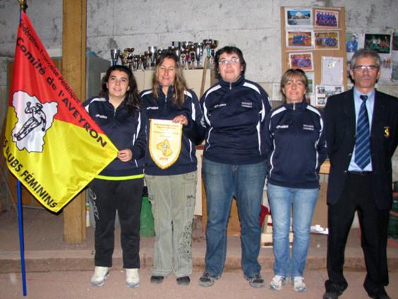 Creissels 2 champion de l'Aveyron