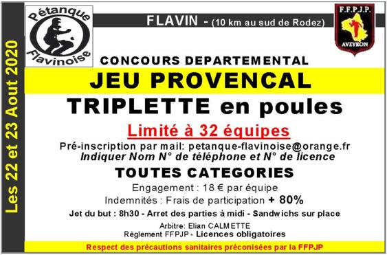 Concours Jeu Provençal
