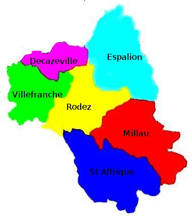 Réunions districts (rectificatif!)