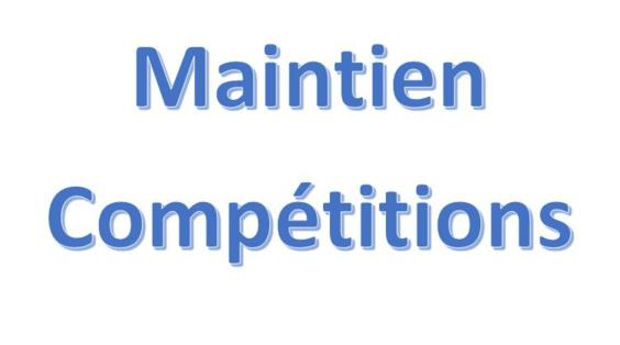 Maintien Compétitions
