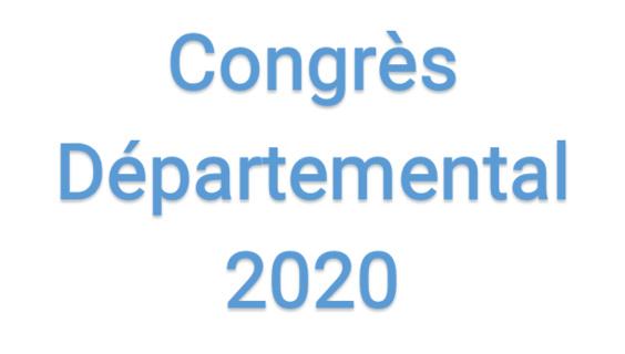 Congrès Départemental 2020
