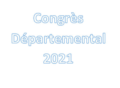 Résultats congrès départemental