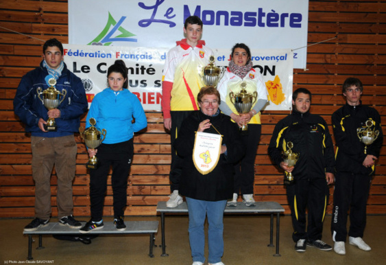 Le podium junior