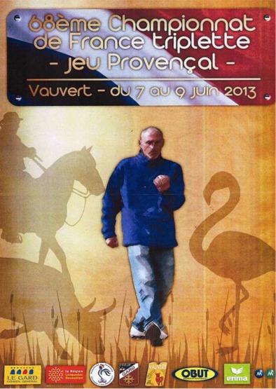 France Triplette jeu provençal (7 au 9 juin)(màj07/06)