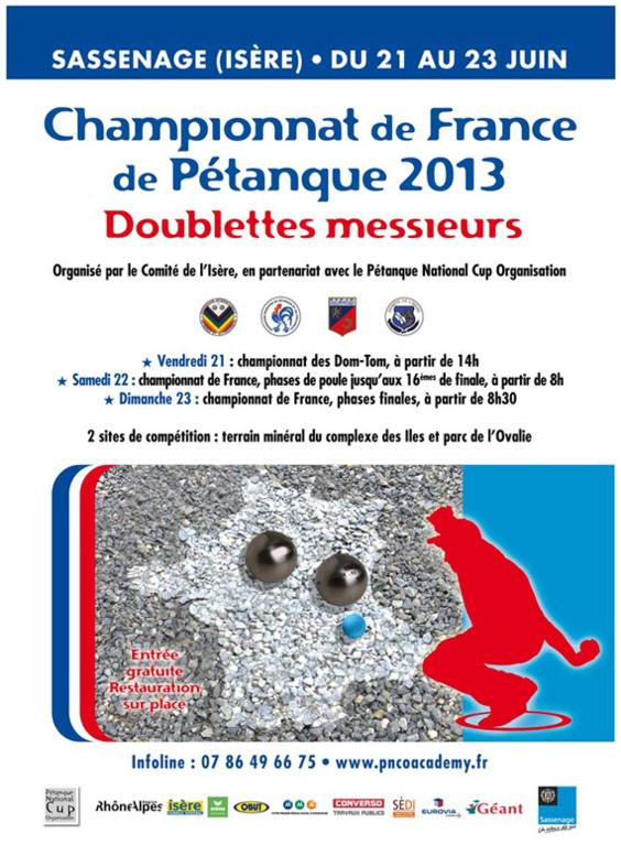 France doublette 2013 (màj22/06)