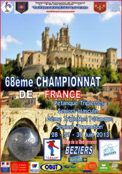 68me France triplette et 2me triplette promotion (màj30/06)