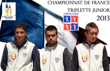 France triplette jeune (màj29/08)