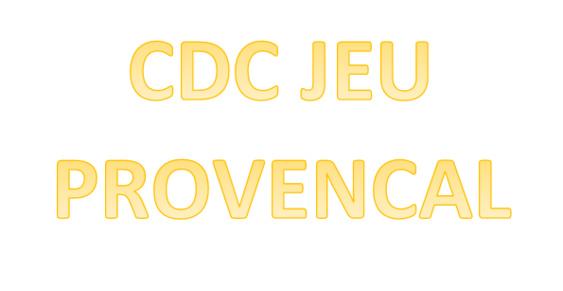 CDC Jeu Provençal 2021