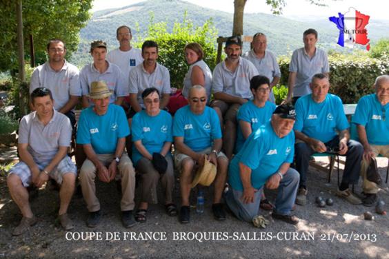 Broquiès / Salle Curan