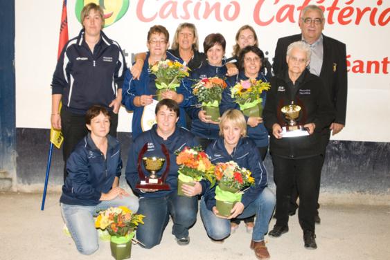 ASS. PET. CASSAGNOLS Championne CDC féminin