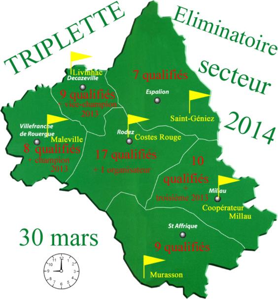 Triplette éliminatoire (màj03/04)