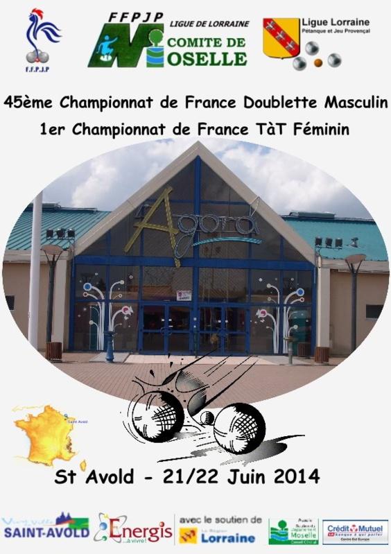 Championnats de France TTF et DS 2014 (maj22/06)