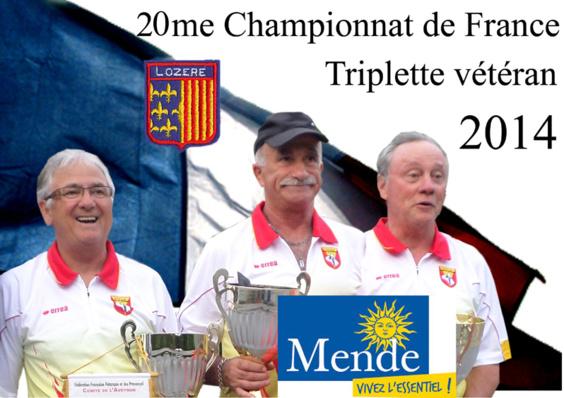 20me France triplette vétéran