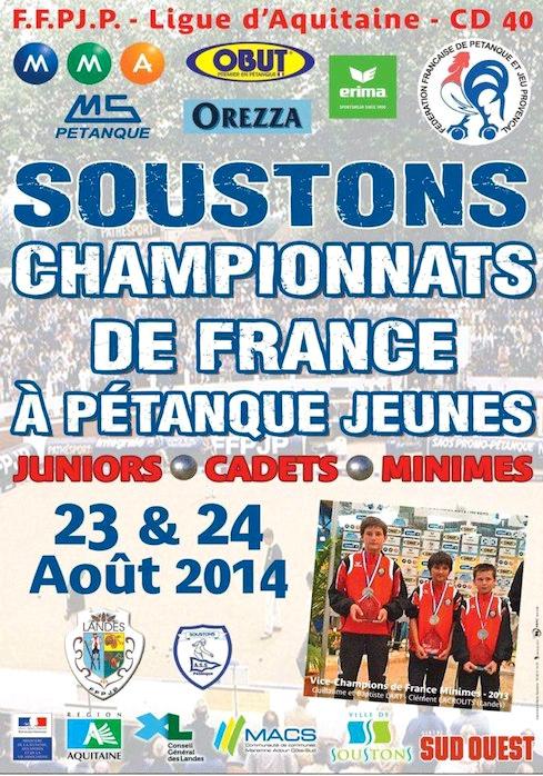Championnat de France jeune 2014