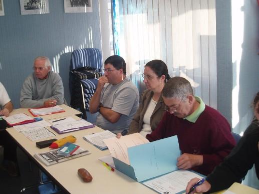 Réunion du Comité Directeur le 7 septembre 2007 au Siège
