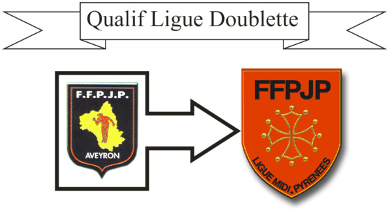 Qualif Ligue Doublette (màj08/03)