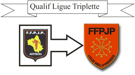 Qualif Ligue triplette (màj15/03)