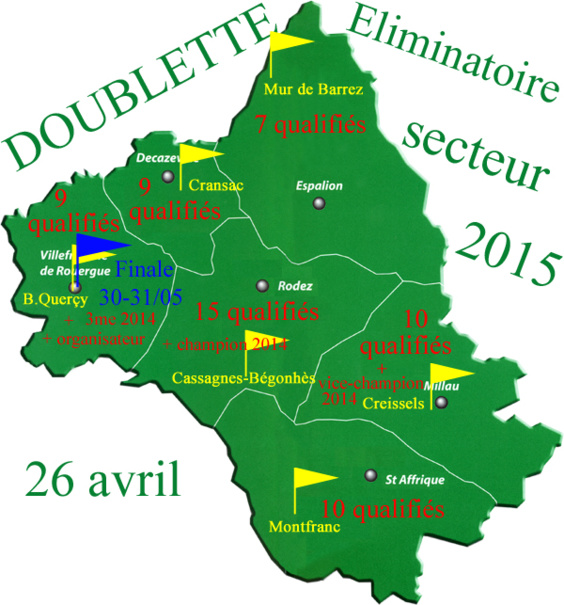 Eliminatoire doublette (màj18/05)