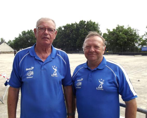 Christian Boulet / Bernard Alary (NH) qualifiés pour la ligue
