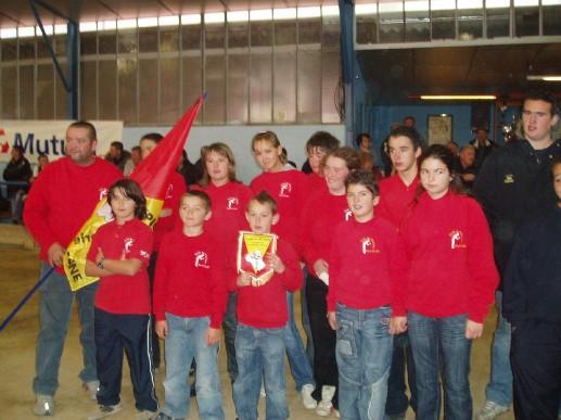 L'Ecole Marcel Rolland des Quatre-Saisons Championne de l'Aveyron