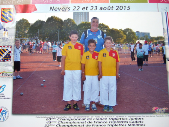 Julien Cartayrade, Nathan Moulieres, Gauthier Lavabre