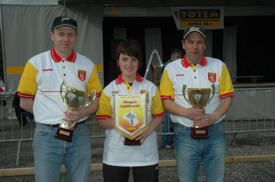 Les Champions 2008   : Jean-Marc Raffit - Caroline Leblond - Auguste Cardoso (Sébazac)