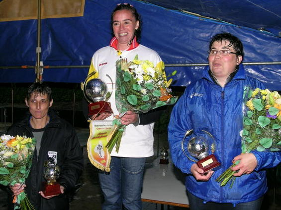 Nelly Marcilhac Championne 2008