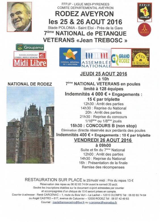 7ème National Vétérans Jean Trebosc